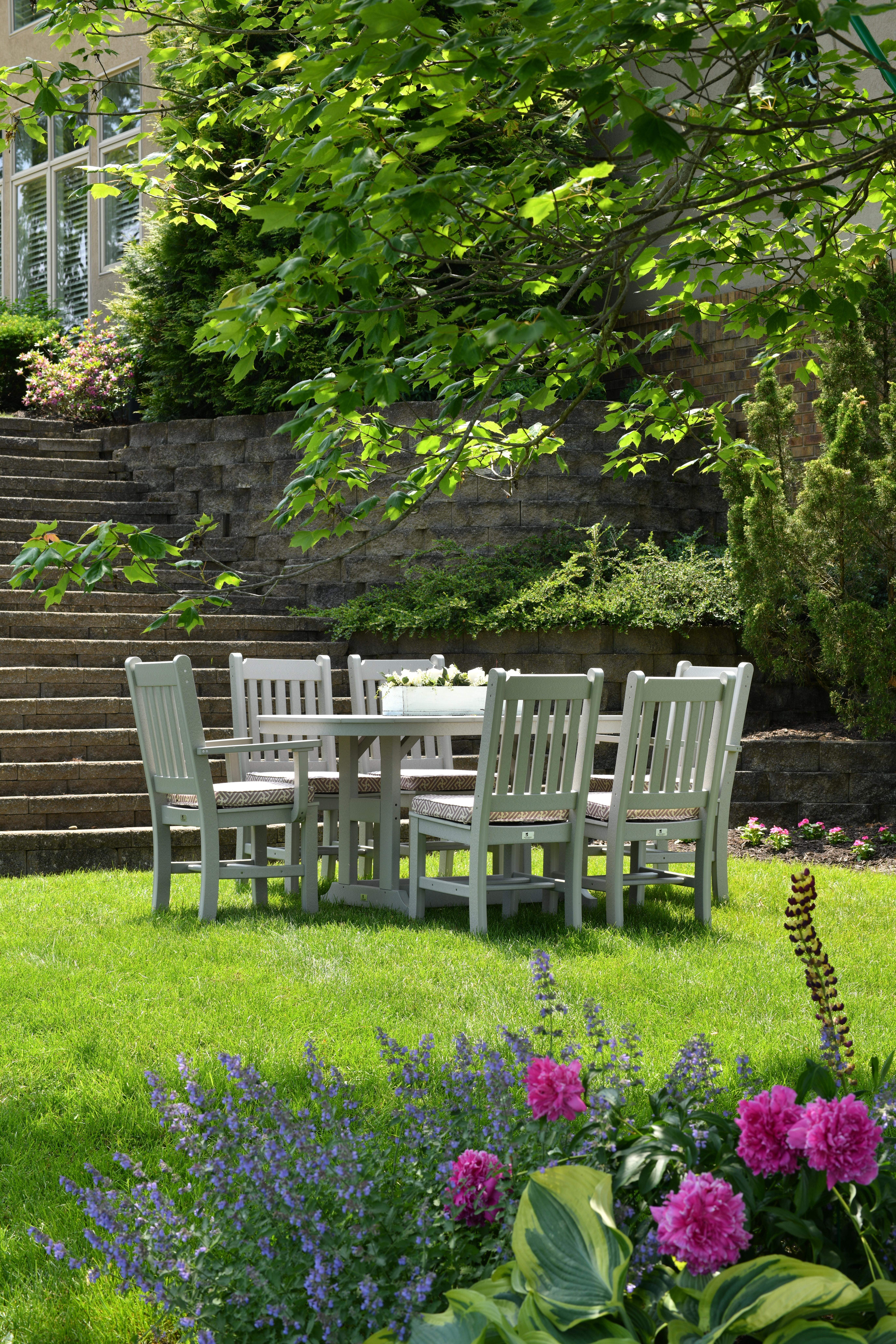 Clean Summer Backyard